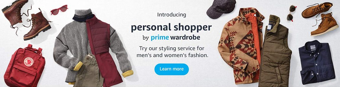 Amazon (Intro Personal Shopper) – Below Header Banner
