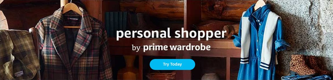 Amazon (Try Personal Shopper) – Below Header Banner